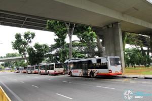 Marina Centre Bus Terminal - SMRT Roadside parking
