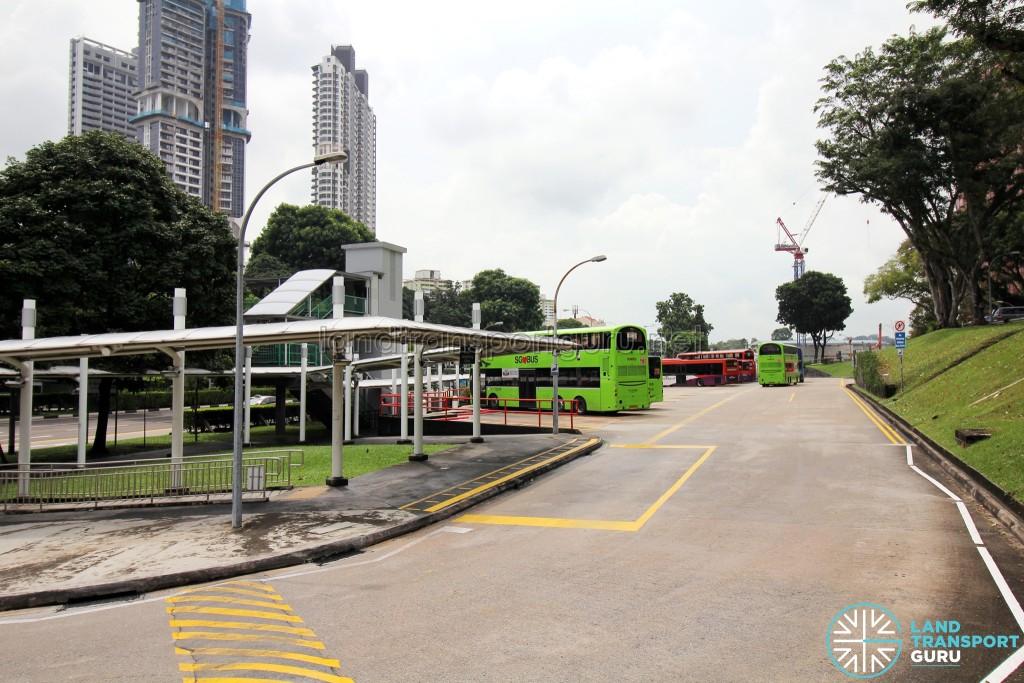 New Bridge Road Bus Terminal - Rear view