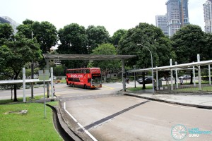 New Bridge Road Bus Terminal - Vehicle ingress