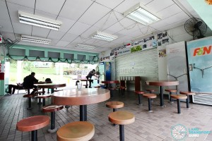 New Bridge Road Bus Terminal - NTWU Canteen (when closed)