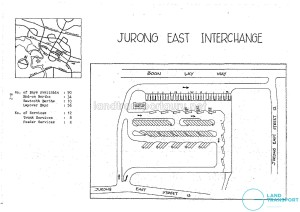 Layout of old Jurong East Bus Interchange