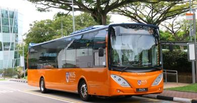NUS Volvo B9L - Internal Shuttle Bus A2 (PA2A)