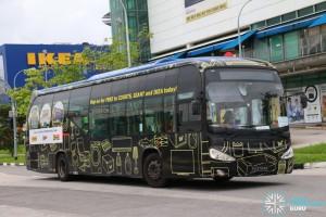 ComfortDelGro Bus Scania K230UB (PA9794M) - Tampines Retail Park Shuttle, Sengkang Route
