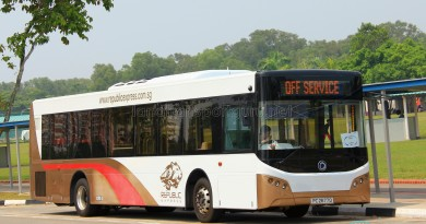 Republic Express - Sunlong SLK6121UF14H Hybrid (PC2677D) - Parkway Parade to Pasir Ris Shuttle