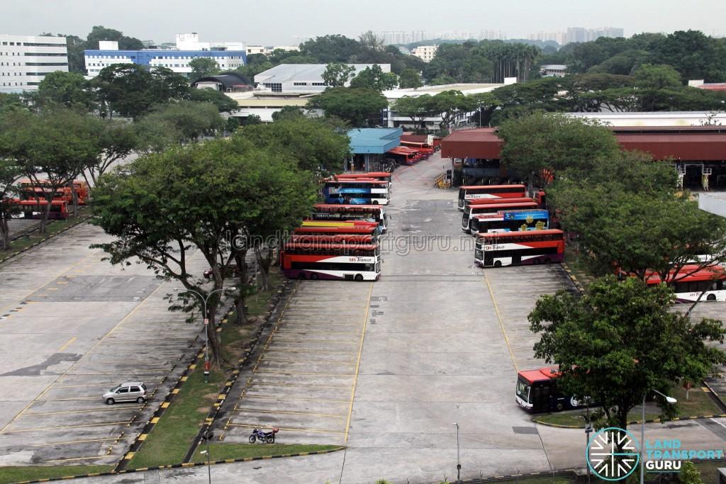 SBS Transit Ang Mo Kio Bus Depot - Bus Park