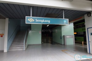 Sengkang Bus Interchange Sengkang Square (South) entrance