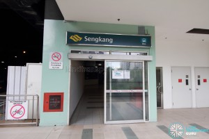 Sengkang Bus Interchange Sengkang Square (North) entrance