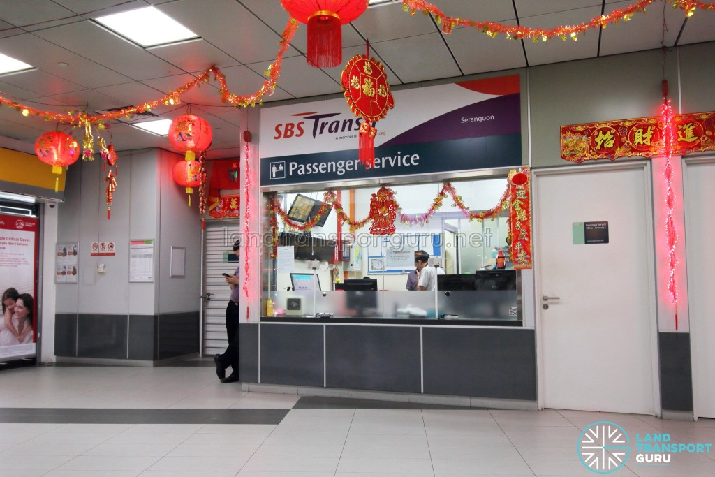Serangoon Bus Interchange - Passenger service office