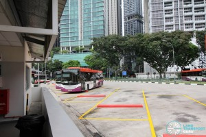Shenton Way Bus Terminal - Parking lots