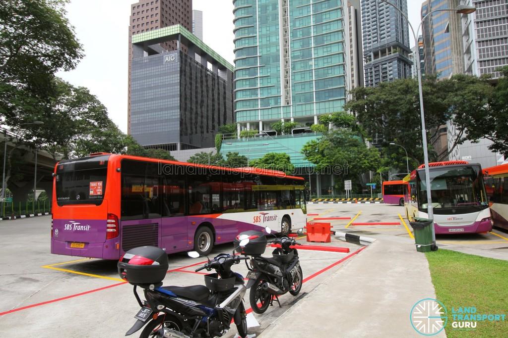 Shenton Way Bus Terminal - Parking lots