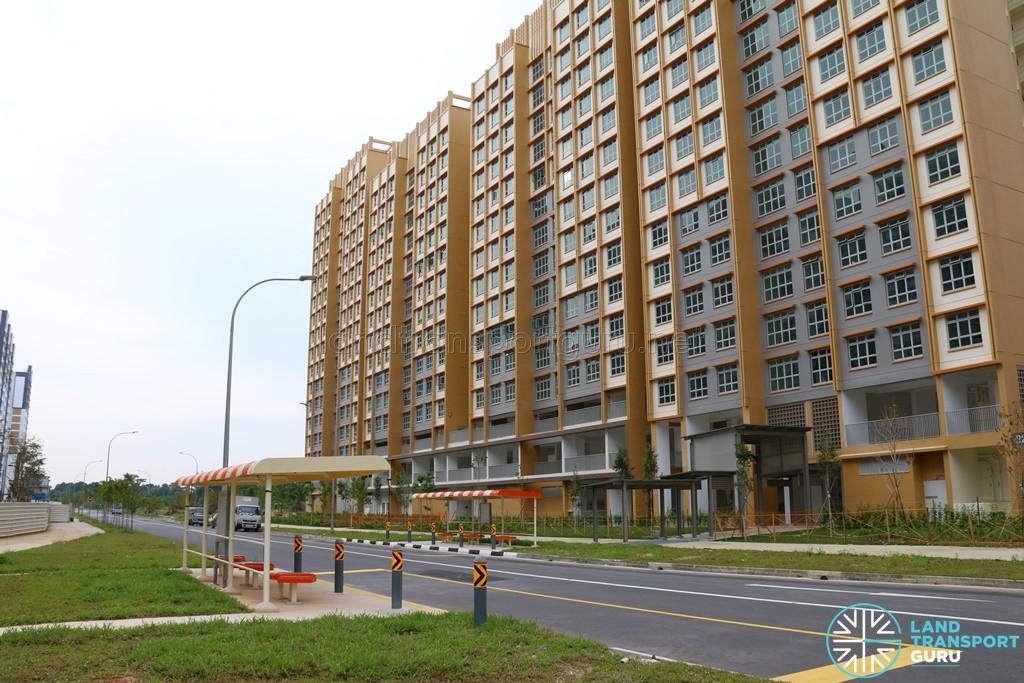 New Bus Stops along Sumang Lane