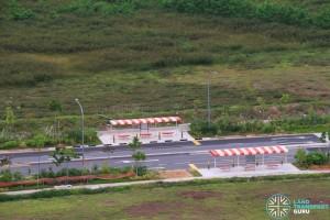 New Bus Stops along Sumang Crescent