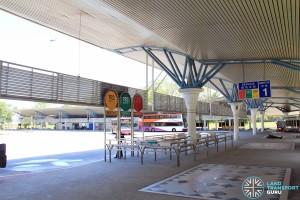 Tuas Bus Terminal - Passenger Concourse & Boarding Berth