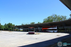 Tuas Bus Terminal - Vehicular Concourse