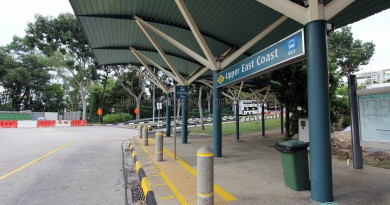 Upper East Coast Bus Terminal - Alighting Berths
