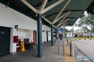 Upper East Coast Bus Terminal - Bus waiting area