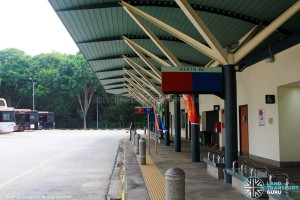 Upper East Coast Bus Terminal in September 2015 - Interchange concourse