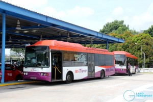 SBS Transit Volvo B10BLE CNG (SBS2989K) - Refuelling at Toh Tuck CNG Station