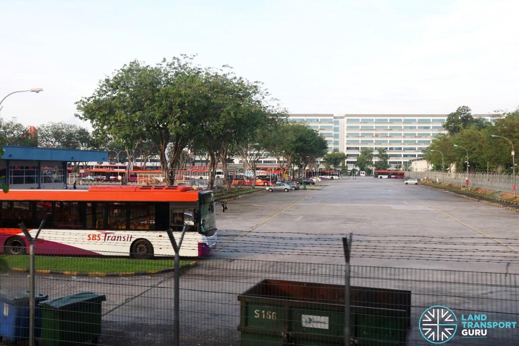 Ang Mo Kio Depot bus park