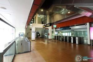 Choa Chu Kang LRT - Ticket Concourse