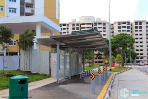 New Bus Stop along Choa Chu Kang Ave 6 for Bus Service 301