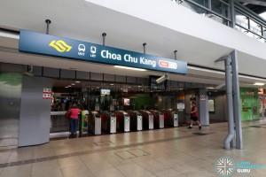 Choa Chu Kang MRT/LRT Station - Exit D