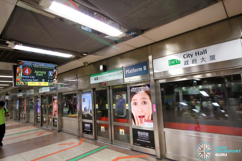 070217 EWL Track Point Fault - Terminating at Jurong East (Platform D)