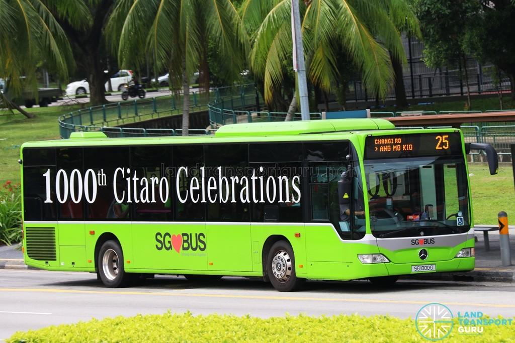SBS Transit Mercedes-Benz O530 Citaro (SG1000G) - Service 25