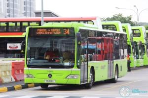 Go-Ahead Mercedes-Benz Citaro (SG1016L) - Service 34