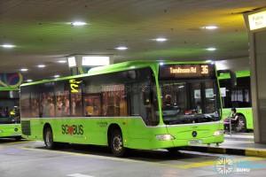 Go-Ahead Mercedes-Benz Citaro (SG1016L) - Service 36