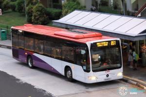 SMRT Mercedes-Benz Citaro (SG1050L) - Service 851