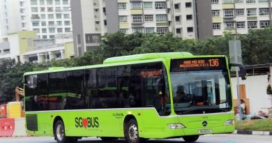 Go-Ahead Mercedes-Benz Citaro (SG1051J) - Service 136