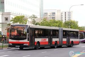 SMRT Mercedes-Benz O405G Volgren (TIB1193C) - Service 67