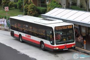 SMRT Mercedes-Benz Citaro (SMB143G) - Service 855