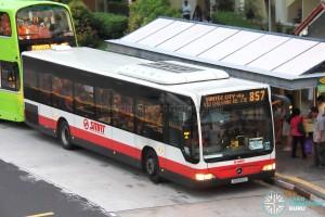 SMRT Mercedes-Benz Citaro (SMB160G) - Service 857