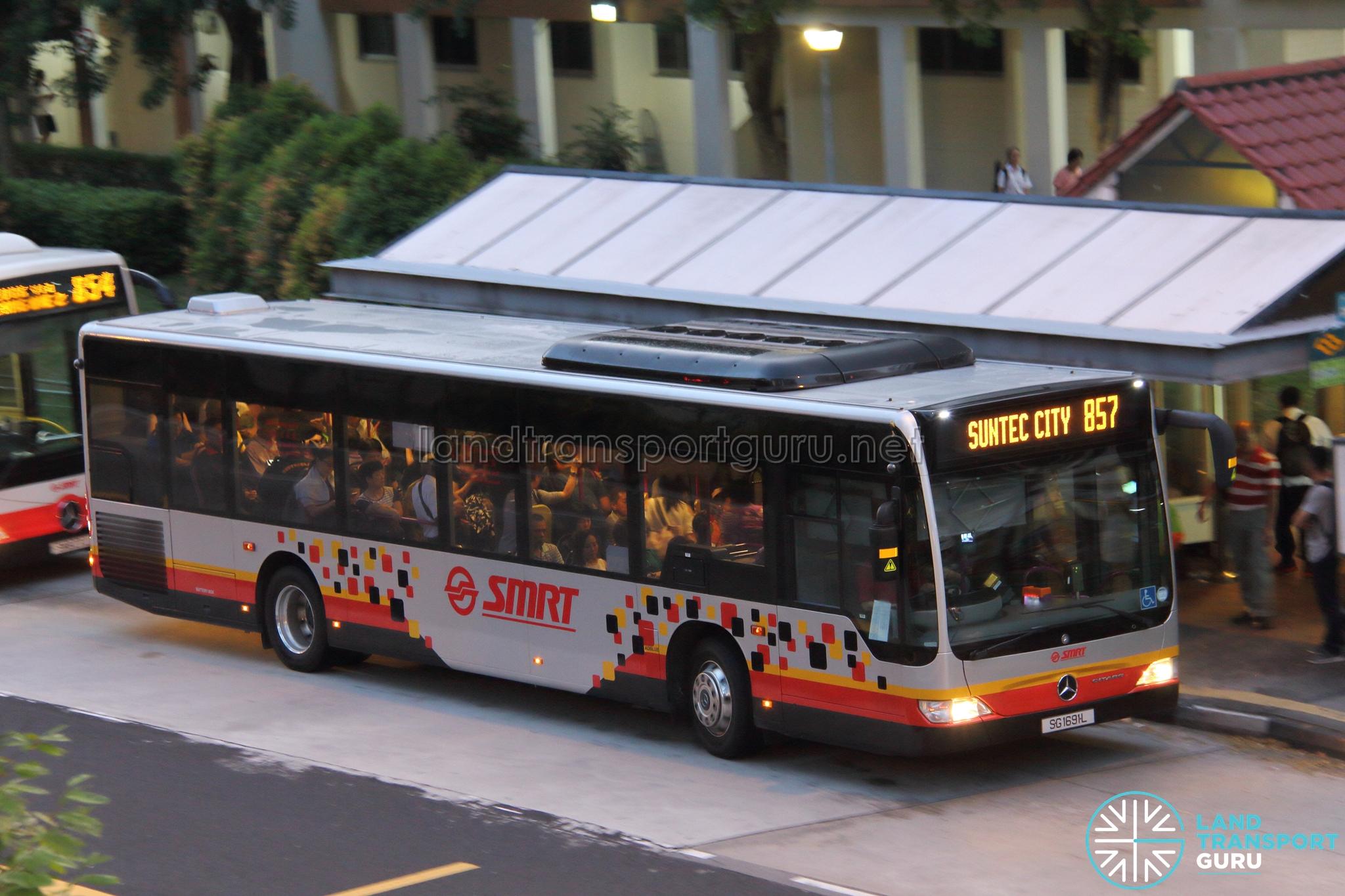 SMRT Mercedes-Benz Citaro (SG1691L) - Service 857