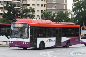 SBST Volvo B10BLE CNG (SBS2996P) - Service 151