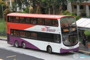 SBS Transit Volvo B9TL Wright (SBS3051J) - Service 117
