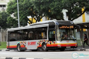 SMRT MAN NL323F (SMB3121A) - Service 811E