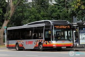 SMRT MAN NL323F (SMB3160L) - Service 75