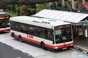 SMRT Mercedes-Benz OC500LE (SMB33R) - Service 853