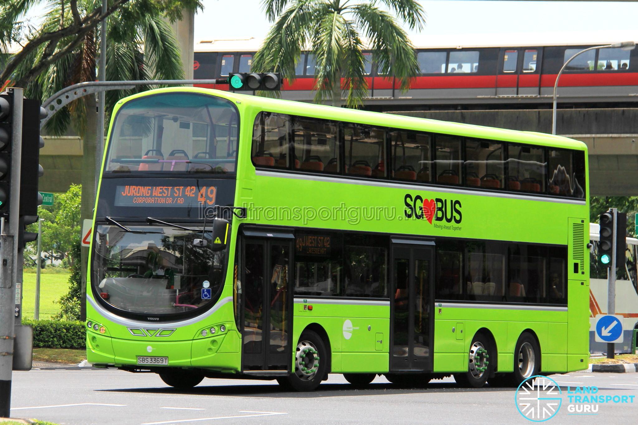 Tower Transit Volvo B9TL