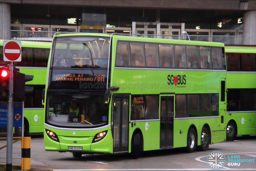 Tower Transit Alexander Dennis Enviro500 (SMB3543R) - Service 78A