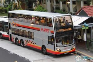 SMRT Alexander Dennis Enviro500 (SMB3574B) - Service 969