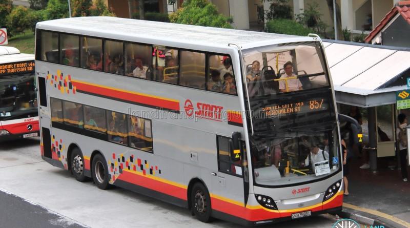 SMRT Alexander Dennis Enviro500 (SMB3585U) - Service 857