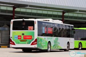 Go-Ahead BYD K9 (SG4001J) - Service 119 - Rear