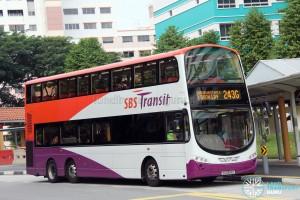 SBS Transit Volvo B9TL Wright (SG5364E) - Service 243G