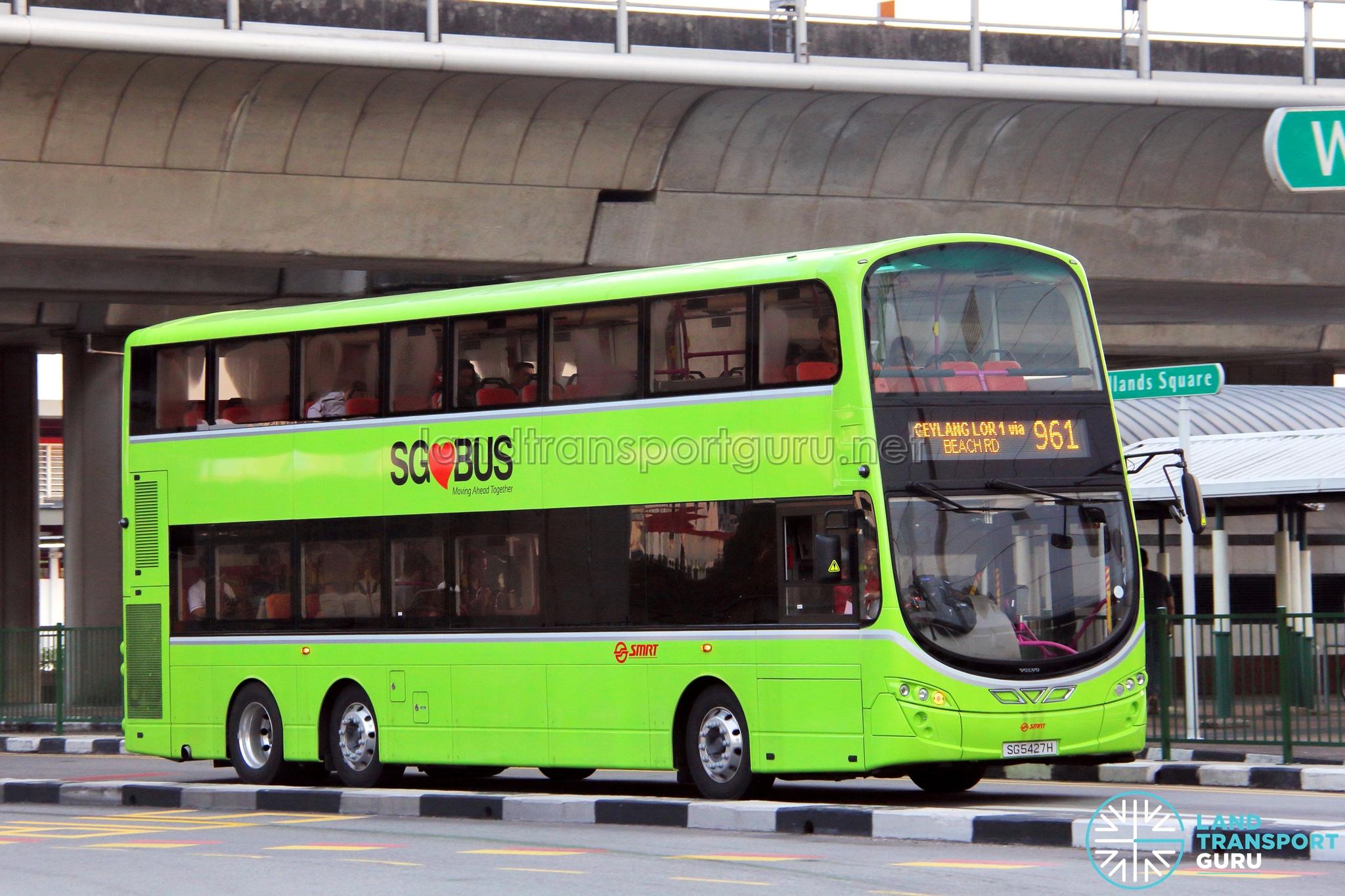 SMRT Buses Volvo B9TL (SG5427H) - Service 961