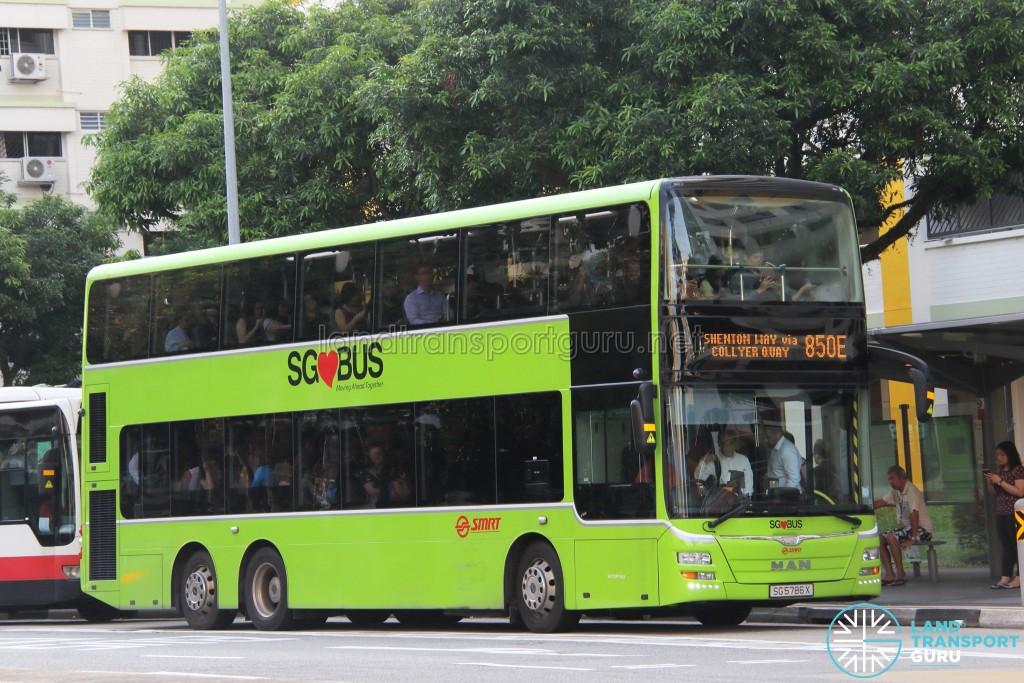 SMRT MAN A95 (SG5786X) - Service 850E