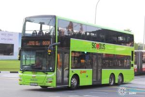 SMRT MAN A95 (SG5787T) - Service 860A